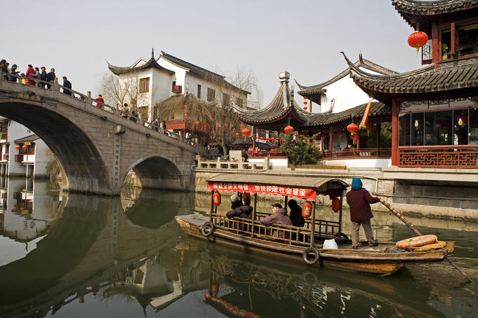 Qibao historic town.