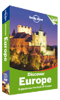 Discover Europe travel guide by Lonely Planet