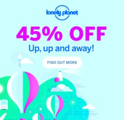 Lonely Planet promotie