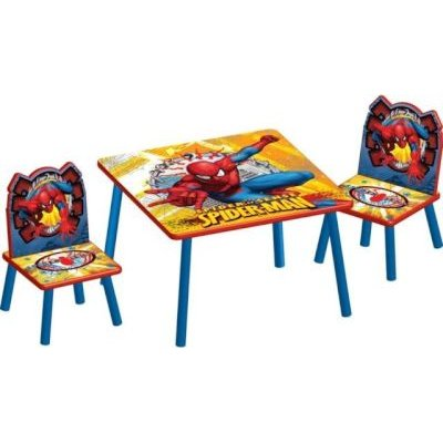 spiderman table and chairs chair cover hire ilford marvel set baby buy online in south