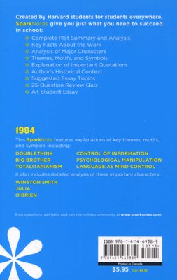 1984 by George Orwell  SparkNotes Literature Guide