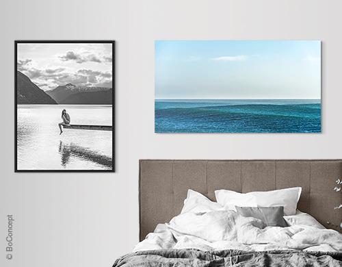 Schlafzimmer Bilder  LUMAS