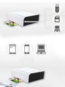 HiTi P310W kan bland annat skriva ut bilder från en smartphone