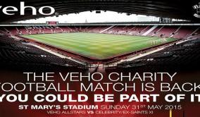 Veho Saints Charity Match 2015