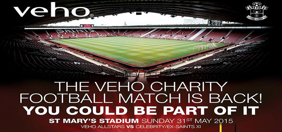 Veho Saints Charity Match 2015
