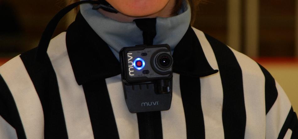 Kamera på domare
