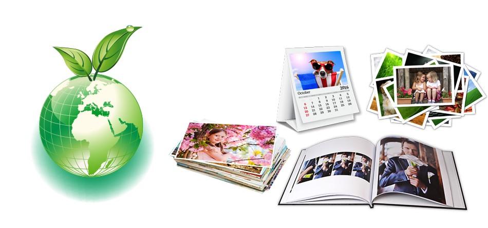 Miljövänligt fotopapper