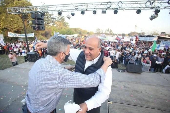 """Zabaleta respaldó a Lealtad Peronista: """"Van a ganar las elecciones"""""""