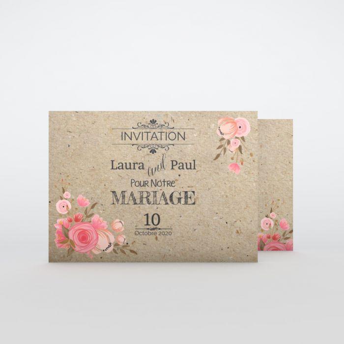 carte d invitation mariage a