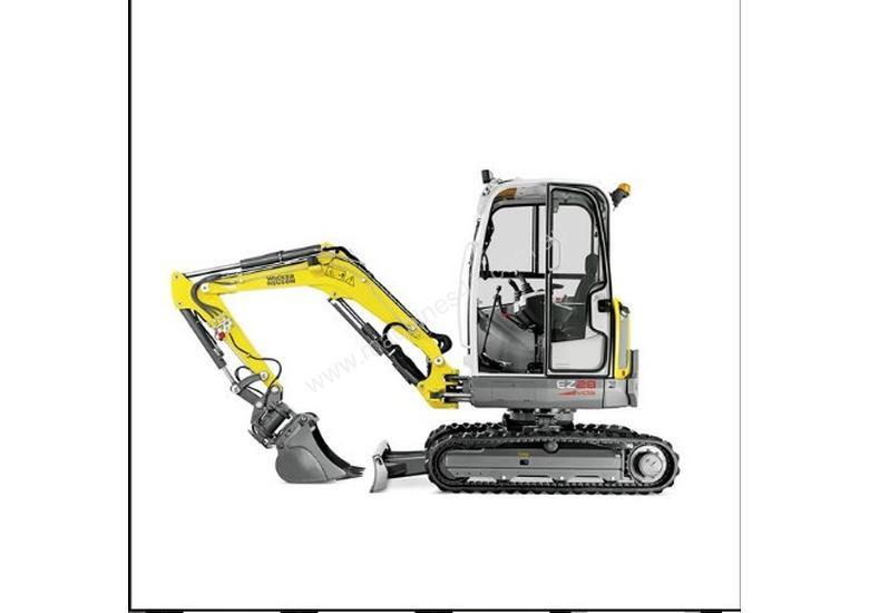 Used wacker neuson EZ28 0-7 Tonne Excavator in KILSYTH