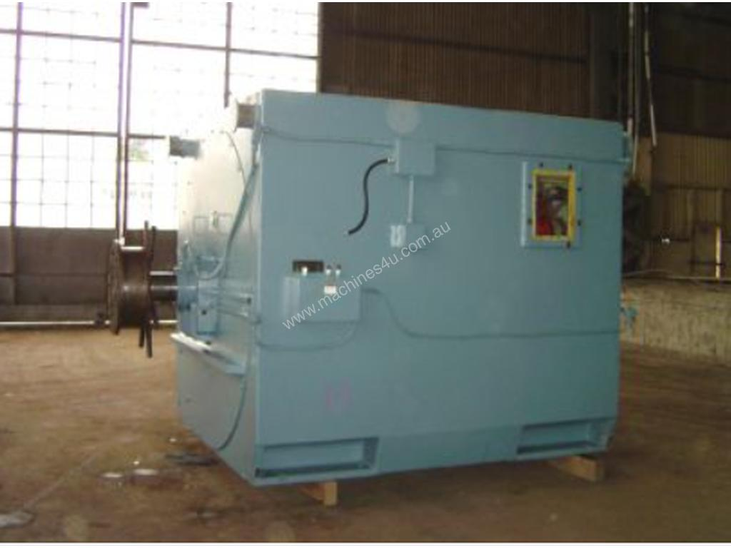 hight resolution of used 1999 westinghouse 5500 kw 4 pole teco westinghouse slip ring motor three phase motor in berwick vic