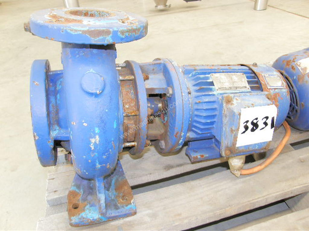 Used ajax E65 13M1-5C Centrifugal Water Pump in SOUTH GRANVILLE. NSW