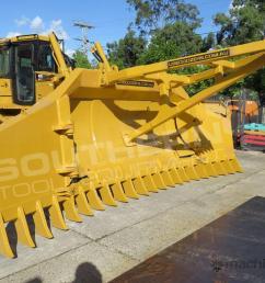 new 2019 caterpillar d6r d6t su blade dozer stick rake tree pusher dozrake dozer stick rake in darra qld price 22 590 [ 1024 x 768 Pixel ]