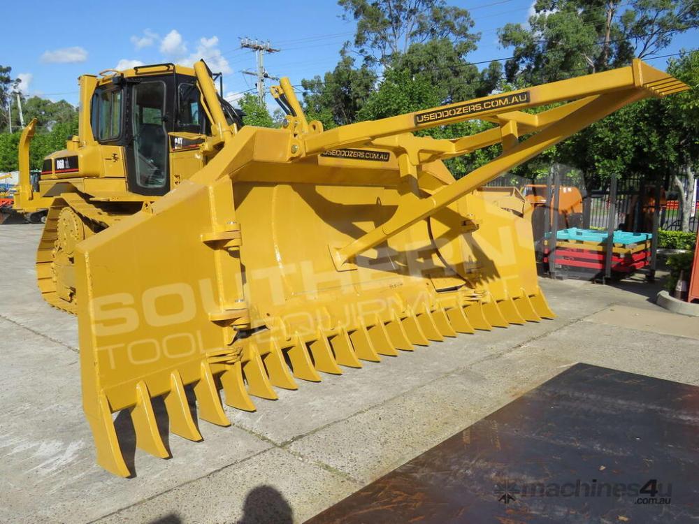 medium resolution of new 2019 caterpillar d6r d6t su blade dozer stick rake tree pusher dozrake dozer stick rake in darra qld price 22 590