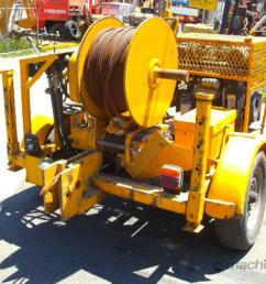 used super winch ltd uk 3000 hydraulic winch in eltham vic price 12 000 [ 1024 x 768 Pixel ]
