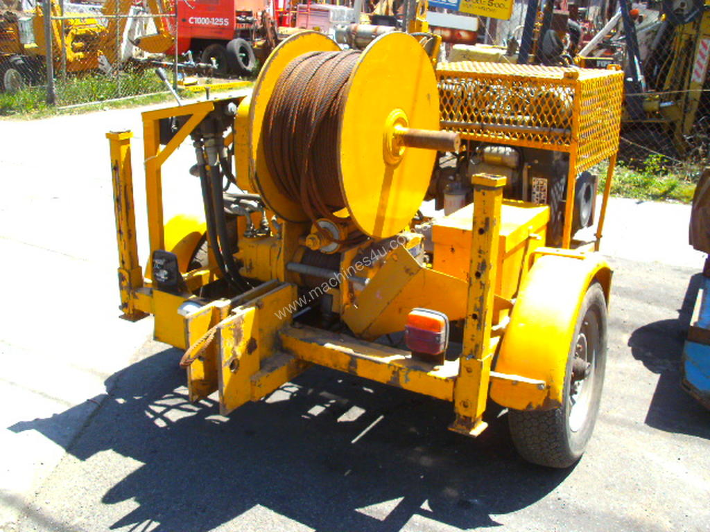 hight resolution of used super winch ltd uk 3000 hydraulic winch in eltham vic price 12 000