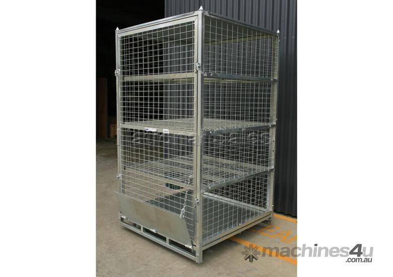 New Unknown Lockable Shelves Storage Cage Storage
