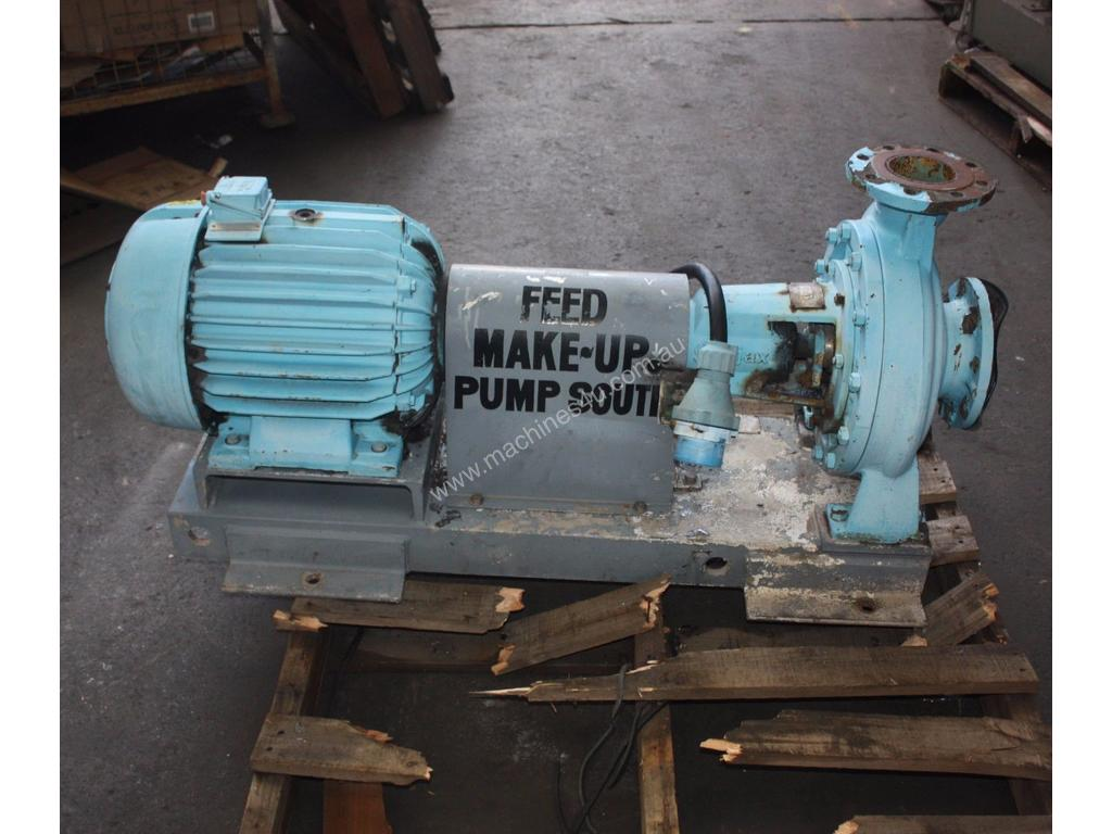 Used ajax pumps pope 125 X 100 - 315 14174 T Centrifugal Water Pump in OTTOWAY. SA