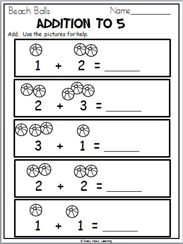 Ready For Kindergarten Math Workbook