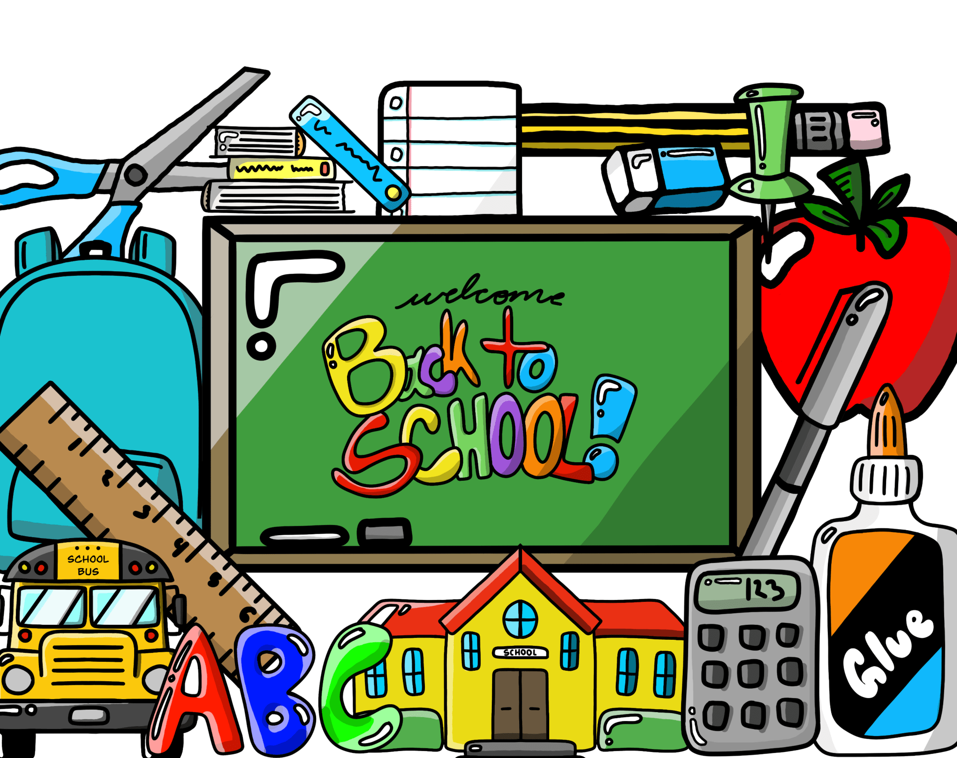 Large Back To School Essentials Pack