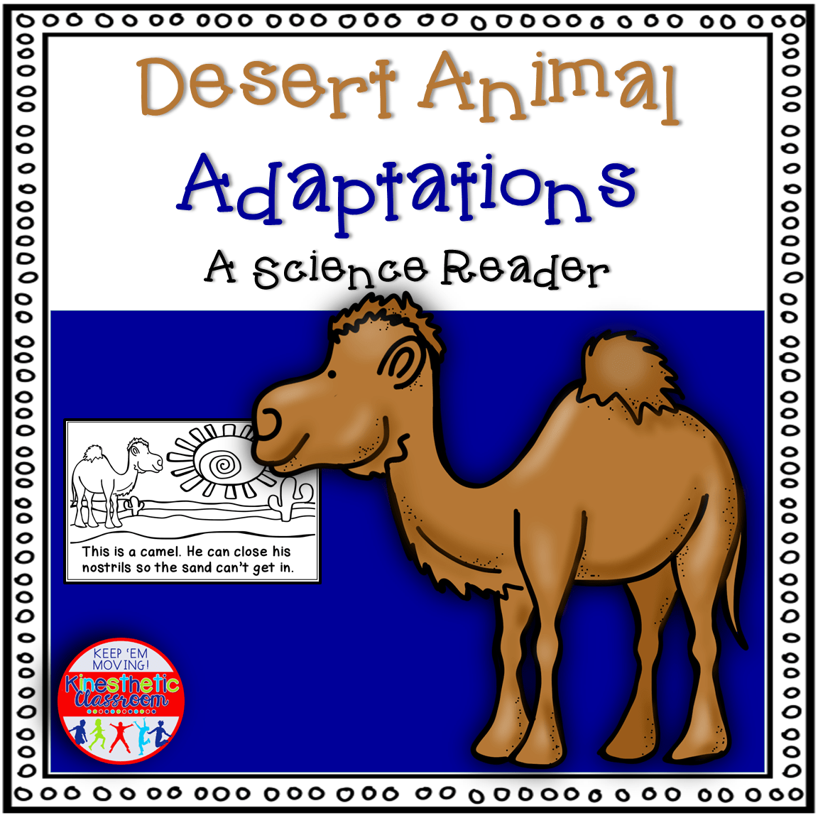 Desert Animal Adaptations Book