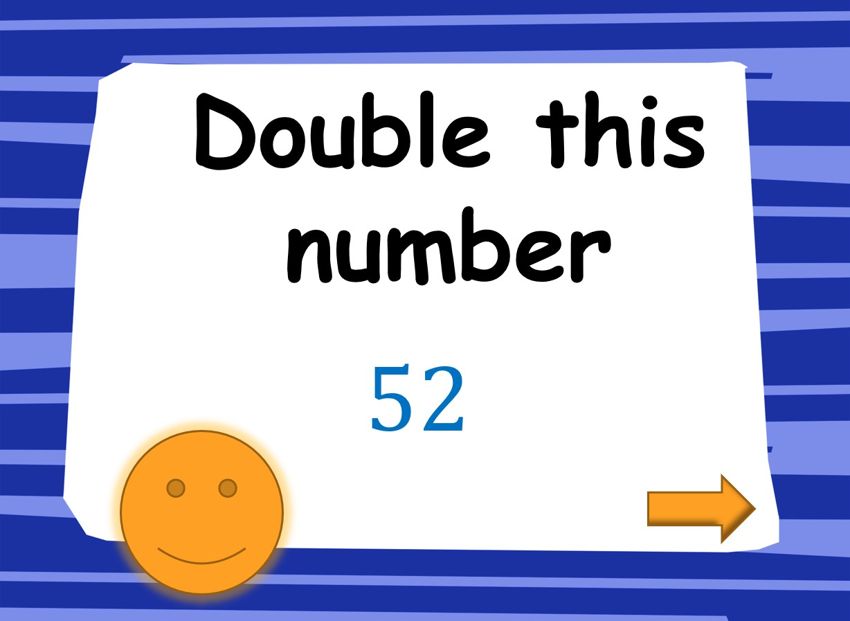 Doubling And Halving Math Game
