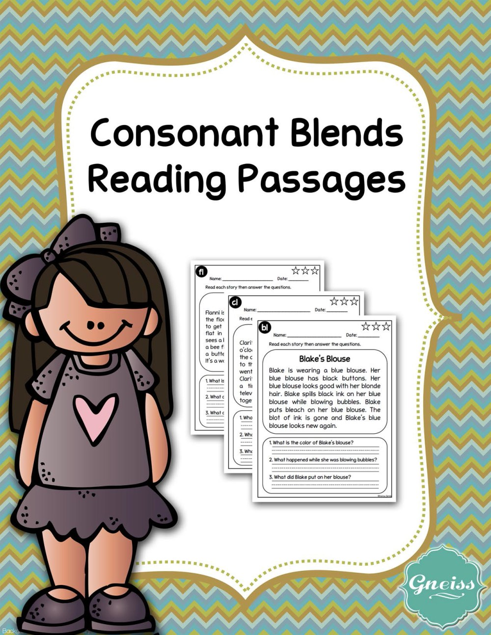 medium resolution of Consonant Blends Reading Comprehension Passages - Made By Teachers