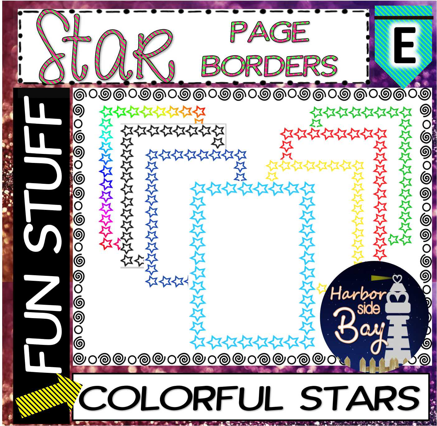Page Frames Star Borders