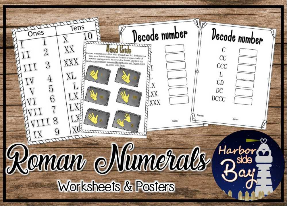 medium resolution of Roman Numerals - Made By Teachers