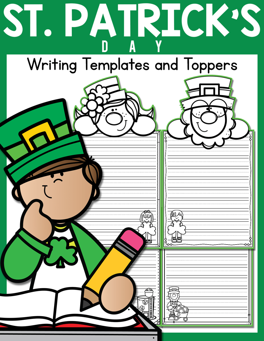medium resolution of St. Patrick's Day Writing Templates and Toppers - Made By Teachers