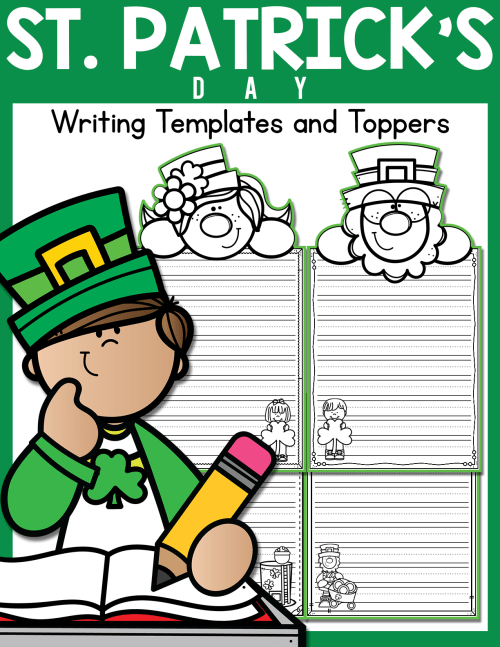 small resolution of St. Patrick's Day Writing Templates and Toppers - Made By Teachers