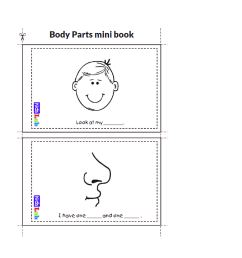 Body Parts - Worksheet Package - Starter Test Cambridge - Vocabulary Practi  - Made By Teachers [ 2004 x 3562 Pixel ]