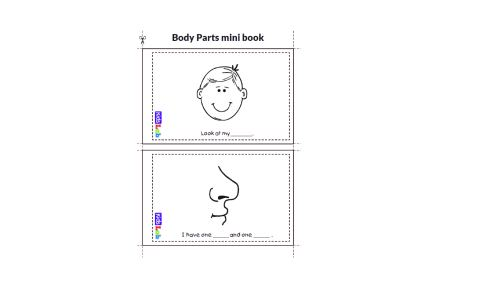small resolution of Body Parts - Worksheet Package - Starter Test Cambridge - Vocabulary Practi  - Made By Teachers