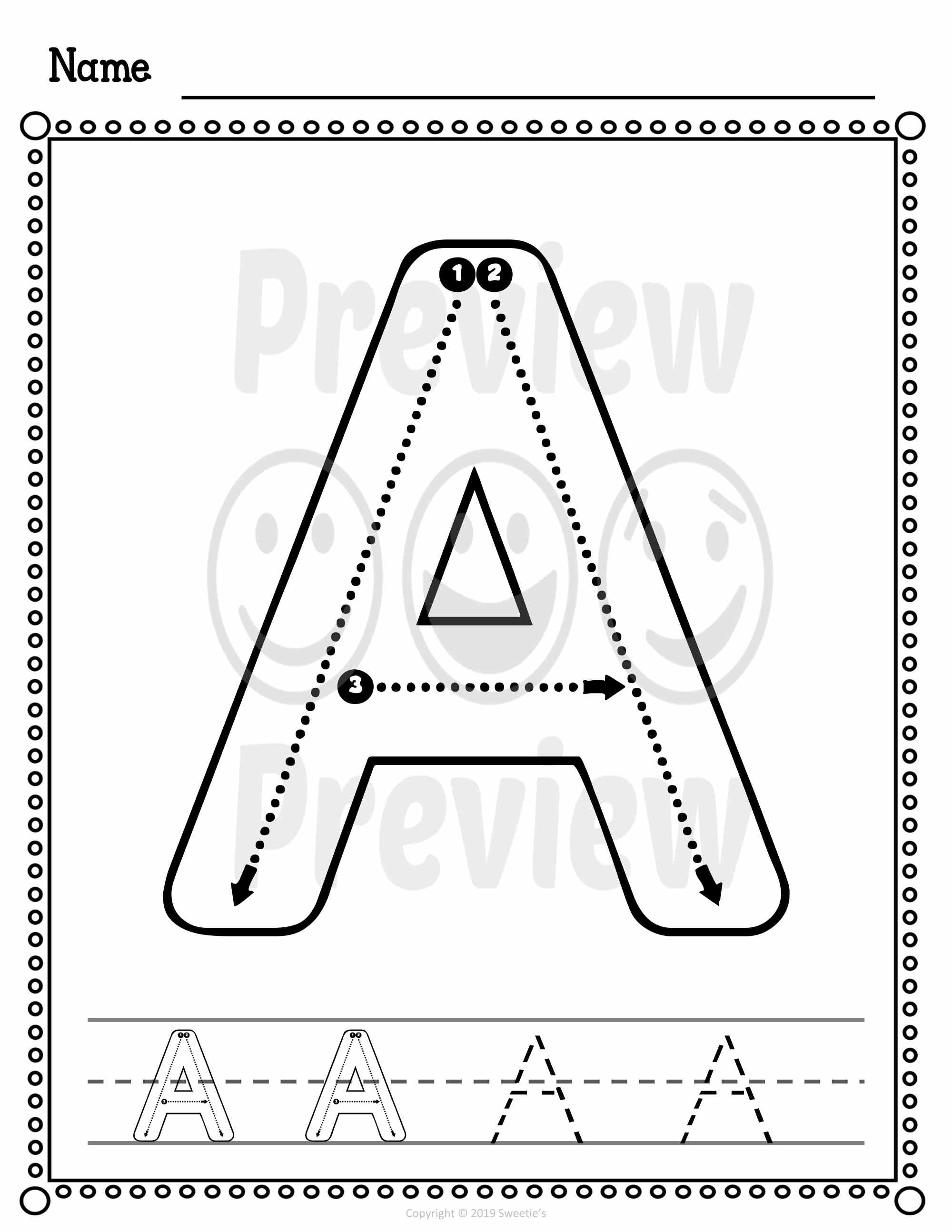 hight resolution of Alphabet and Number Worksheets Correct Letter Formation - Made By Teachers