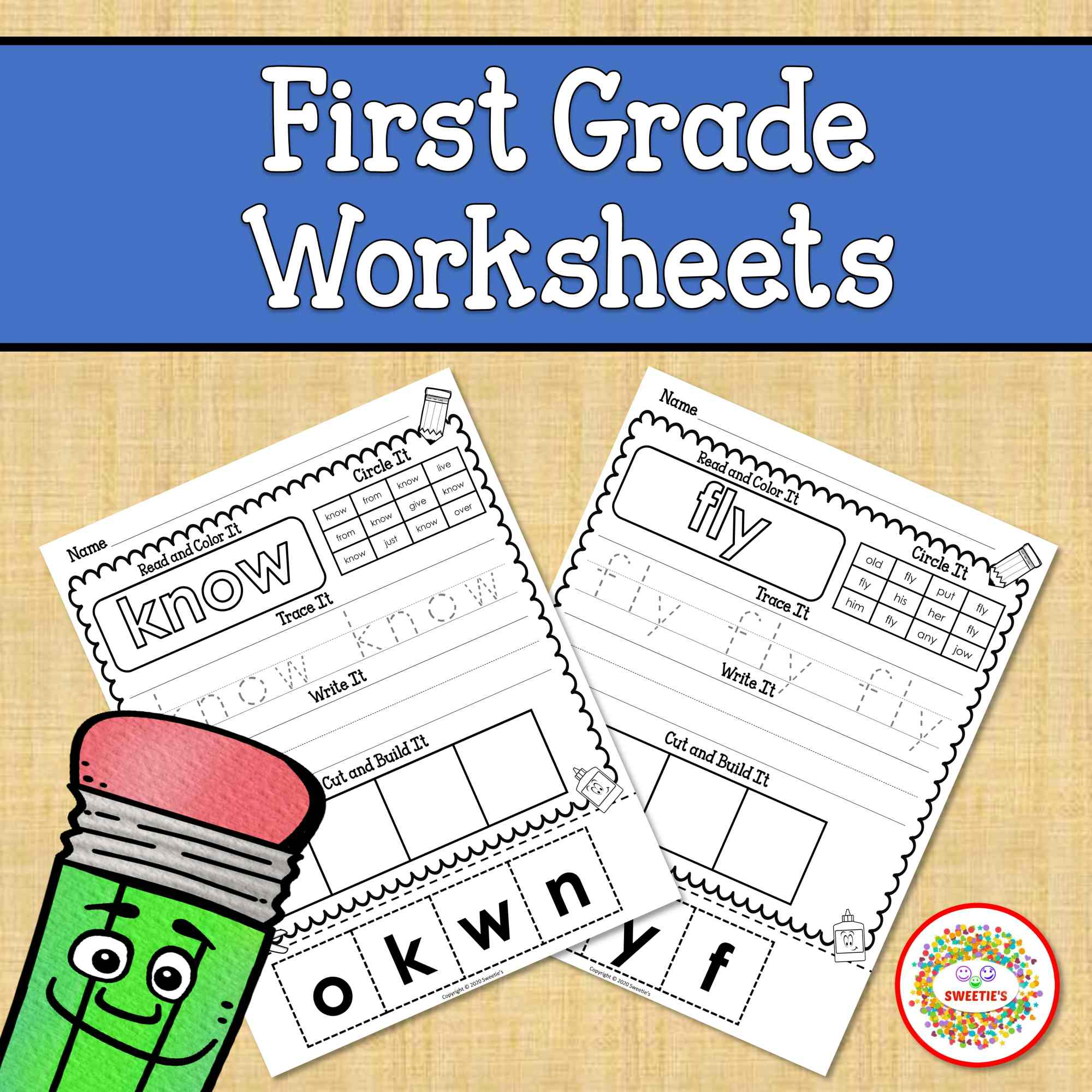 hight resolution of Dolch First Sight Word Worksheets - Made By Teachers