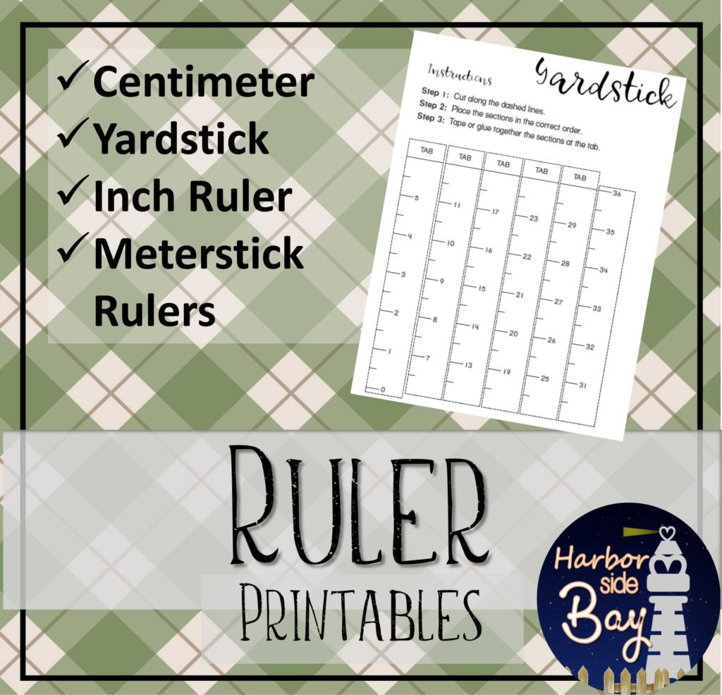 Ruler Template Printables