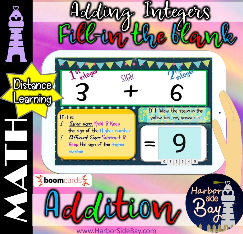 Adding Integers Positive And Negative Numbers