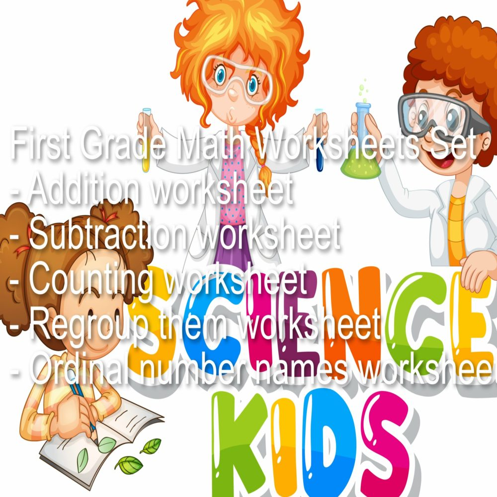 medium resolution of First Grade Math Worksheets Set - Made By Teachers