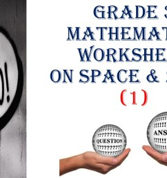 Grade 3 MATHEMATICS WORKSHEET ON SPACE \u0026 SHAPE (1) QUESTIONS and ANSWERS -  Made By Teachers [ 720 x 1280 Pixel ]