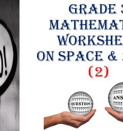 Grade 3 MATHEMATICS WORKSHEET ON SPACE \u0026 SHAPE (2) QUESTIONS and ANSWERS -  Made By Teachers [ 720 x 1280 Pixel ]