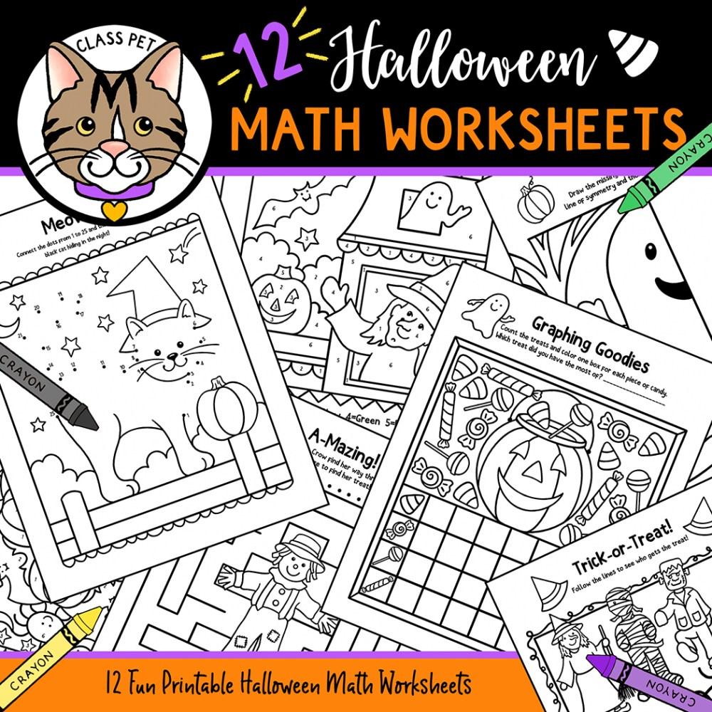 medium resolution of Halloween Math Worksheets - Made By Teachers