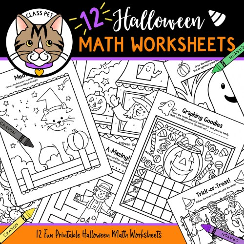 small resolution of Halloween Math Worksheets - Made By Teachers