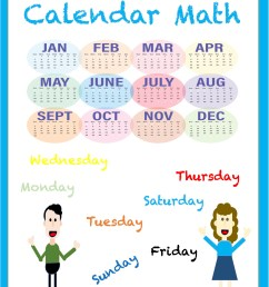 Calendar Math Worksheets - Madebyteachers [ 1650 x 1275 Pixel ]