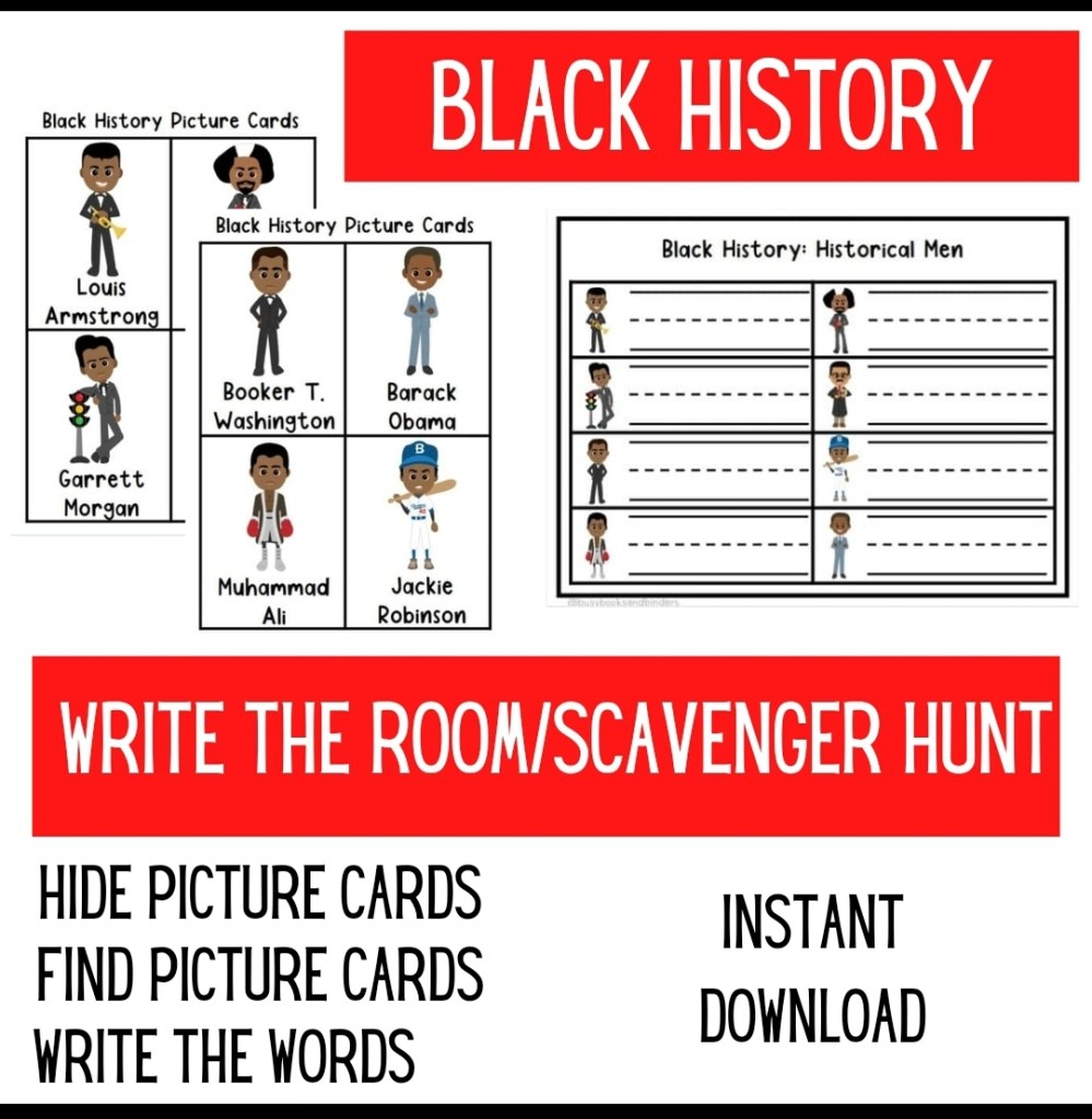 medium resolution of Black History Month Worksheets - Made By Teachers