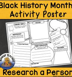 Black History Month Worksheets - Made By Teachers [ 2400 x 2400 Pixel ]