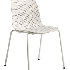 White Stacking Chairs Plastic Wood Floor Chair Mat 13eighty Perforated By