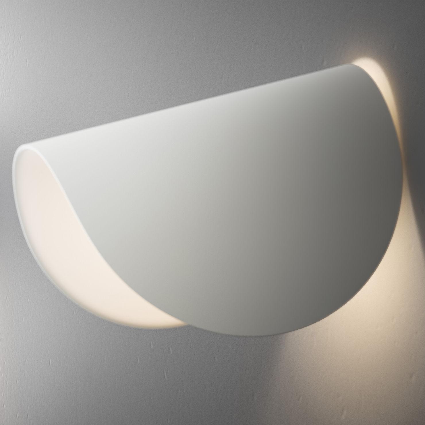 Applique IO LED  Orientable Blanc  Fontana Arte  Made In Design