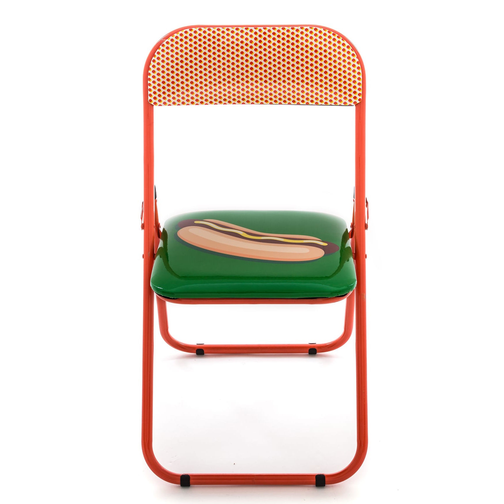 folding egg chair sport brella recliner uk hot dog padded by seletti