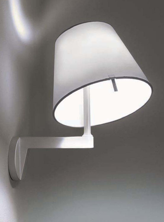 Melampo Applique Grigio alluminio by Artemide  Made In Design