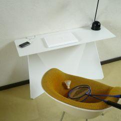 Zeta Desk Chair Wooden Glider Parts White By Studio Manzano